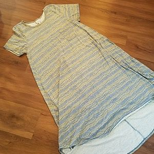 Lularoe carly hi low dress